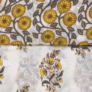 Cotton set yellow